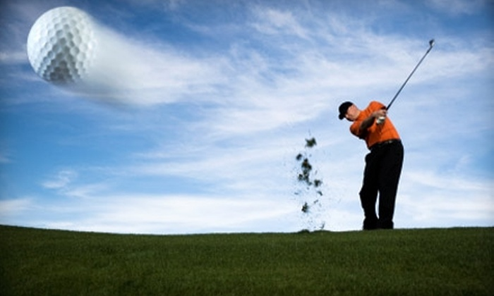 Fore Seasons Learning Center - Hingham: Golfing Practice at Fore Seasons Learning Center in Hingham. Two Options Available.