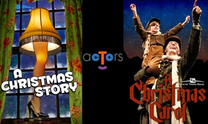 "Actors Theatre of Louisville - Central Business District: $40 for Two Tickets to ""A Christmas Story"" or ""A Christmas Carol"" at Actors Theatre of Louisville (Up to an $88 Value)"