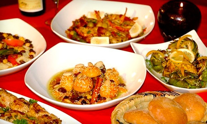Imperial Fez - Buckhead: Five-Course Moroccan Meal for Two or Four at Imperial Fez (Up to 56% Off)