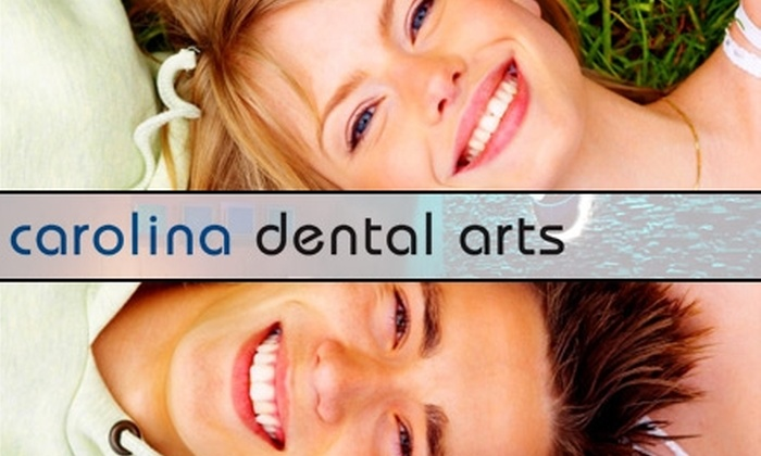 Carolina Dental Arts - Multiple Locations: $59 for a Dental Exam, X-rays, and Regular Cleaning at Carolina Dental Arts ($219 Value). Choose from Two Locations.