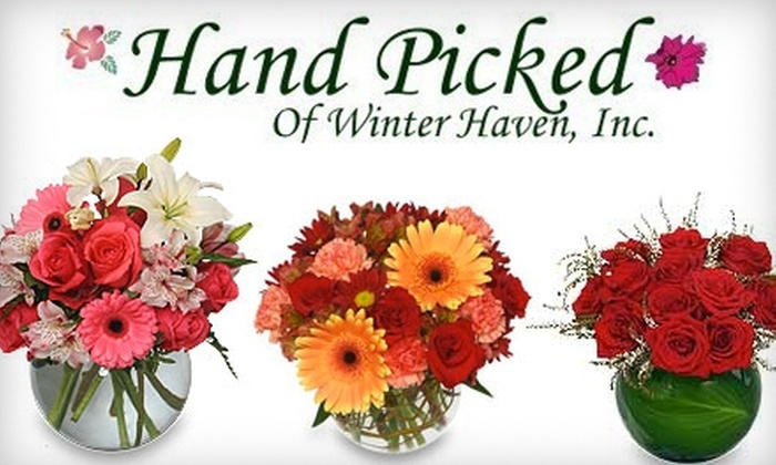 Hand Picked of Winter Haven - Oakview Professional Park: $20 for $40 Worth of Flowers and More at Hand Picked of Winter Haven