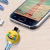 Emoji 3.5 Ft. Micro USB to USB Cable