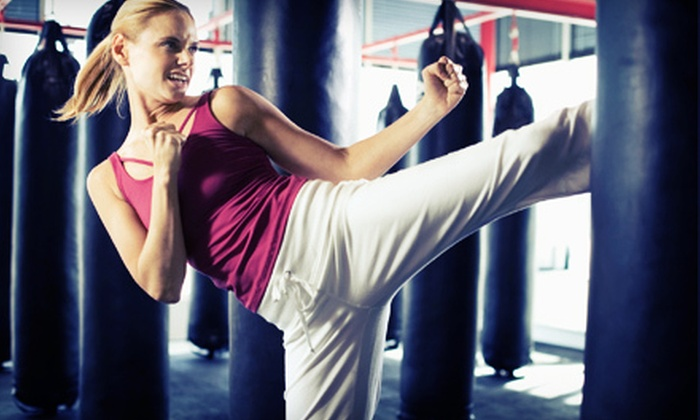 Champion Sport Karate - Papillion Second II: $20 for 10 Kickboxing or Yoga Classes at Champion Sport Karate in Papillion ($45 Value)