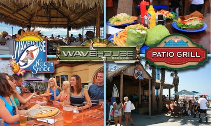 Wave House San Diego - Mission Beach: $15 for $30 Worth of Bites and Beverages at Wave House San Diego's Restaurants