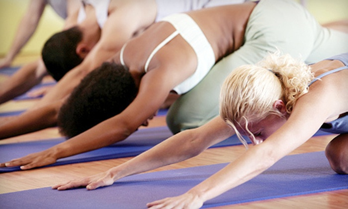 Rising Hearts Yoga Studio - Memorial Northwest: One or Two Six-Week Yoga Sessions at Rising Hearts Yoga Studio in Spring (Up to 67% Off)