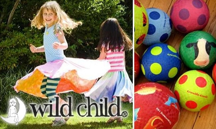 Wild Child - Dudgeon-Monroe: $12 for $25 Worth of Organic Children's Clothing and Toys at Wild Child