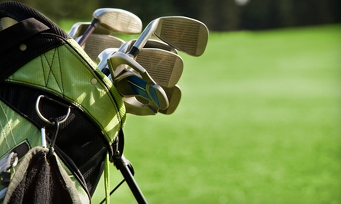 Perche Creek Golf Club - Katy: $29 for Five All-Day Greens Fee Pass (Up to $70 Value) or $9 for Pick Three Fun Pack (Up to $18 Value) at Perche Creek Golf Club