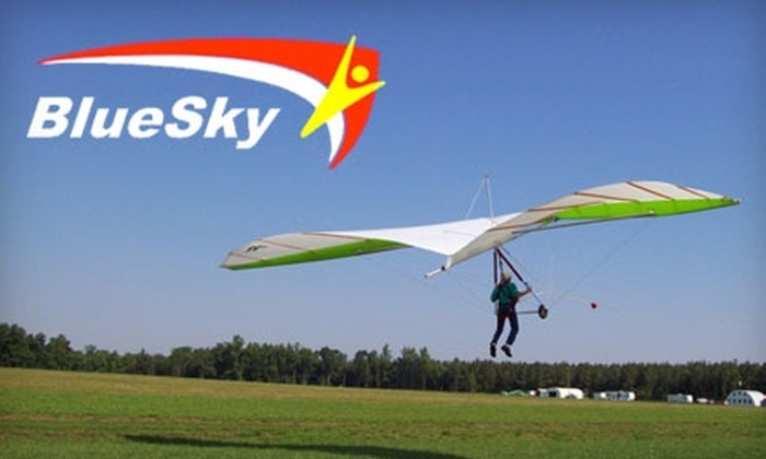 Blue Sky Hang Gliding - Acquinton: $49 for a Beginner Hang-Gliding Lesson at Blue Sky Hang Gliding in Manquin ($99 Value)