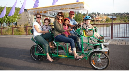 Bike and Boat Rentals from Wheel Fun Rentals (57% Off). Two Options Available.