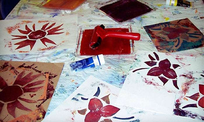 Art and More Day Camp - Modesto: Kids' Art Activities at Art and More Day Camp (Up to 60% Off). Four Options Available.