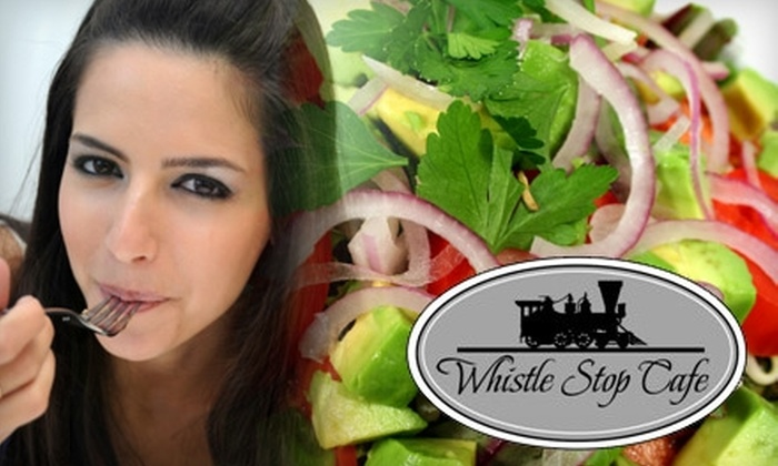 Whistle Stop Cafe - Windsor: $10 for $20 Worth of Home-Style Dinner at Whistle Stop Cafe