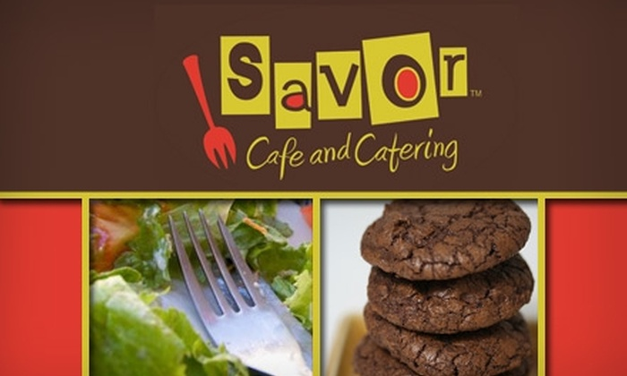 Savor Cafe and Catering - Wesley Heights: $30 Worth of Dinner and Drinks at Savor Cafe and Catering