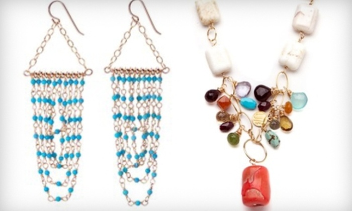 Liz James - West Lake Hills: $25 for $50 Toward Handcrafted Jewelry at Liz James