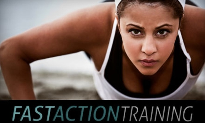 Fast Action Training - Cambrian Community: $35 for One Month of Unlimited Boot-Camp Classes at Fast Action Training ($199 Value)