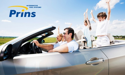 Wertgutschein über 500 € bzw. 600 € für eine Pkw-Umrüstung auf LPG/Autogas mit einer Prins Autogasanlage
