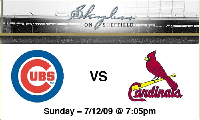 Sky Box on Sheffield - Lakeview: $89 to see Cubs vs Cardinals, July 12, at 7:05 p.m.
