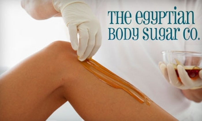 The Egyptian Body Sugar Co. - Highway 11: $25 for $50 Worth of Hair-Removal Services at The Egyptian Body Sugar Co.