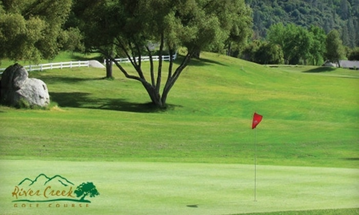 River Creek Golf Course - Oakhurst-North Fork: $40 for Golf Package for Two at River Creek Golf Course in Ahwahnee (Up to $80 Value)