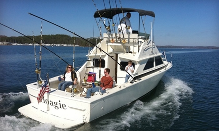 Bait Shack - Cumming: $89 for a Sunset Cruise ($195 Value) or $195 for a Chartered Fishing Trip (Up to $400 Value) at Bait Shack in Cumming