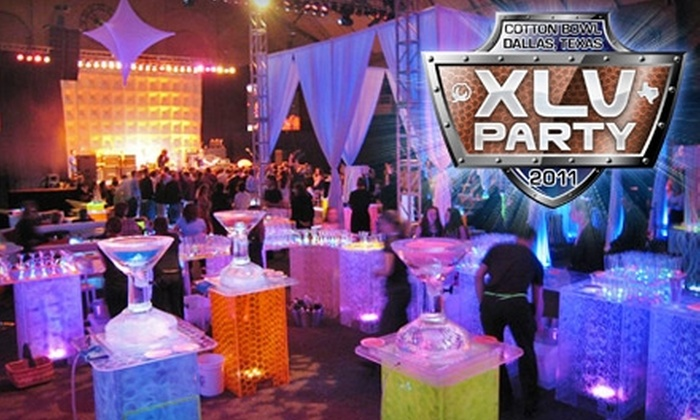 XLV Party - South Boulevard-park Row: $49 for a General-Admission Ticket or $99 for a VIP All-Inclusive Ticket to the XLV Party at the Cotton Bowl on February 3, 4, or 5 (Up to $199 Value)