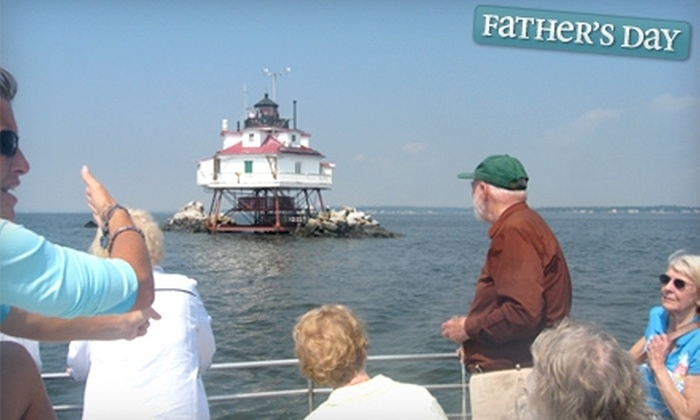 "Chesapeake Lights - Tilghman Island: $37 for One Adult Admission to the Passage to ""5"" Boat Tour from Chesapeake Lights in Tilghman ($75 Value)"