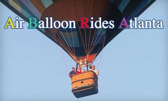 Air Balloon Rides Atlanta - Stone Mountain: $152 for a Hot Air Balloon Ride and Champagne Reception with Air Balloon Rides Atlanta ($275 Value)
