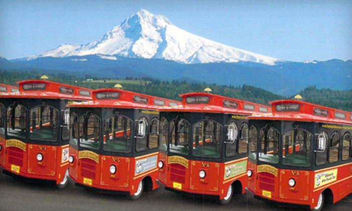 Portland Trolley - Multiple Locations: Urban Wine-and-Cheese Trolley Tour for One or Two from Portland Trolley