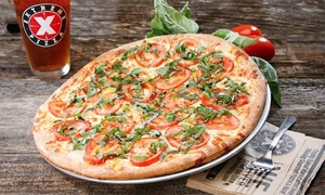 Extreme Pizza: Gourmet Pizza at Extreme Pizza (Up to 44% Off). Two Options Available.