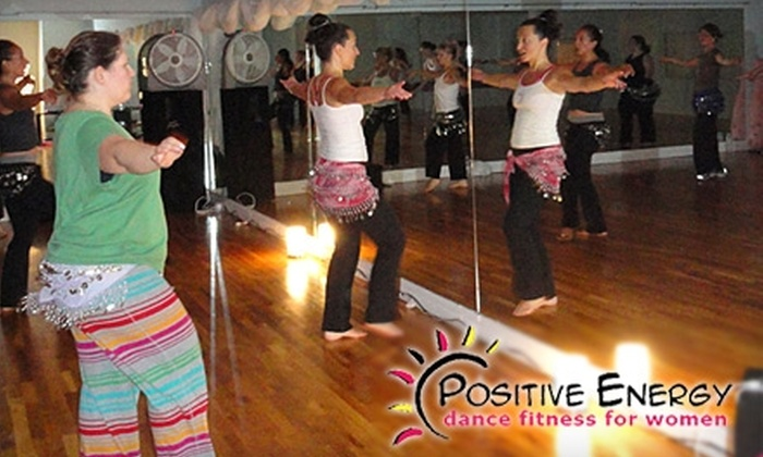 Positive Energy Dance Fitness for Women - Brookfield: $49 for a Sexy Five-Class Pass and One Pole-Dance Class at Positive Energy Dance Fitness for Women