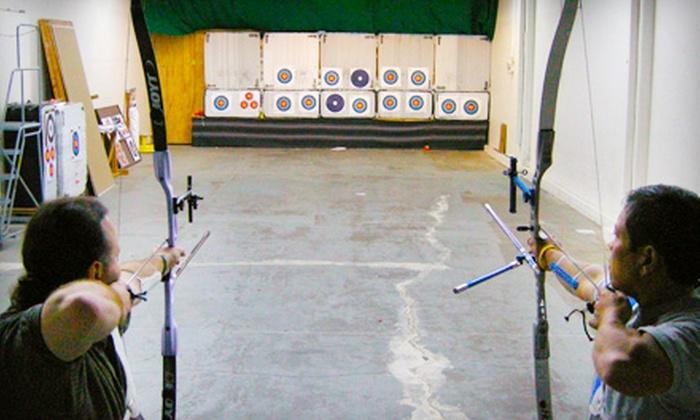 Palomo Archery - Palo Alto: Archery Lessons for Two or One at Palomo Archery in Palo Alto