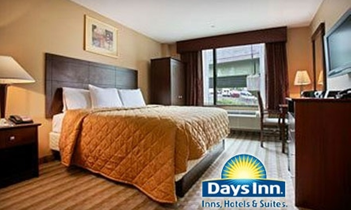 Days Inn Yankee Stadium - Multiple Locations: $65 for a Weekend-Night's Stay (up to $130 Value) or $55 for a Weeknight's Stay (up to $110 Value) at Days Inn Bronx–Yankee Stadium