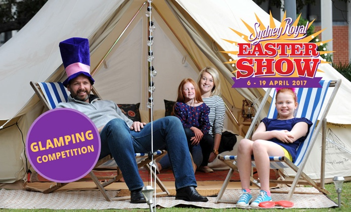 Win a Sydney Royal Easter Show Glamping Experience plus Weekend Family Pass
