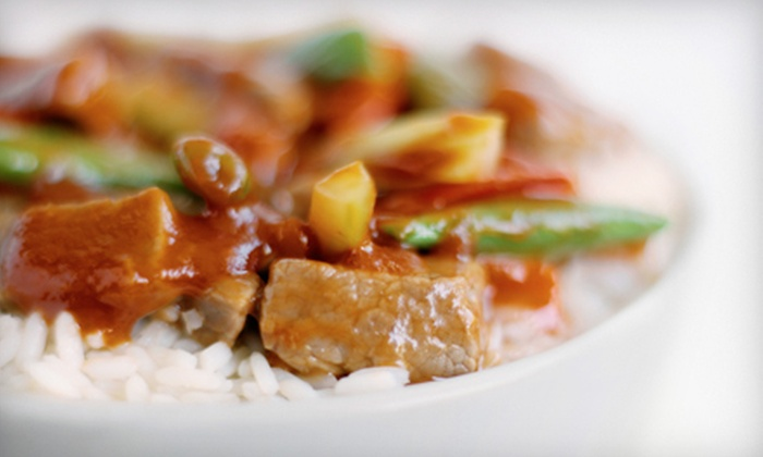 Xan Mongolian Barbeque - Symons Valley: $15 for $30 Worth of Asian Fare at Xan Mongolian Barbeque
