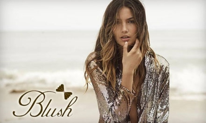 Blush Boutique - Downtown: $25 for $50 Toward Accessories, Makeup, Apparel, and More at Blush Boutique