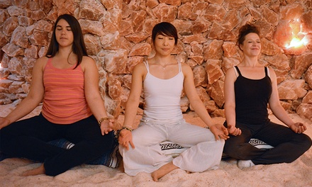 One, Two, or Four 45-Minute Salt-Cave Sessions with Optional Massage at Bethesda Salt Cave (Up to 53% Off)