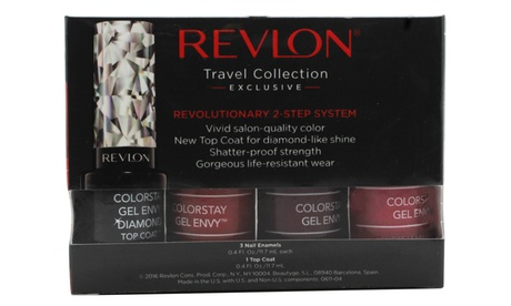 Set de regalo Revlon Colorstay Gel Envy