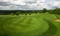 Golf Lesson, Nine Holes and Unlimited Driving Range Balls at Crown Golf Academy Addington Court (58% Off)
