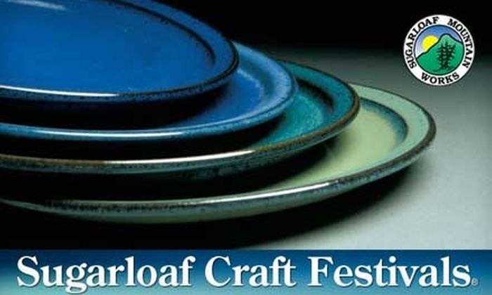 Sugarloaf Crafts Festival - North Meadows: $4 for One Ticket to Sugarloaf Crafts Festival (Up to $9 Value)