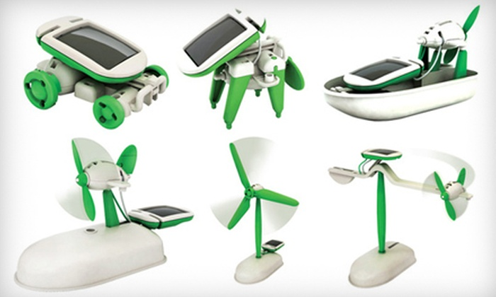 Eco Educational Toys: $19 for a 6-In-1 Solar Educational Toy from Eco Educational Toys ($39 Value)