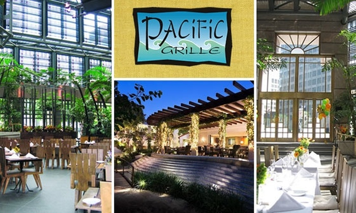Pacific Grille - Downtown Los Angeles: $20 for $50 Worth of Asian-Fusion Cuisine at Pacific Grille