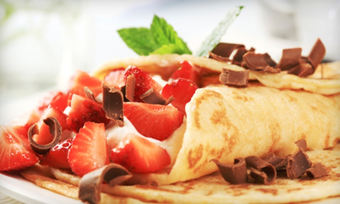 ChocolateBox Cafe - Eastern Malibu: Crêpes, Wraps, and Drinks for Two or Four People at ChocolateBox Cafe in Malibu
