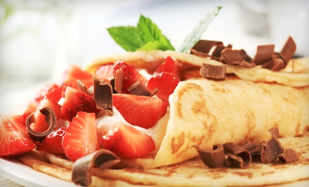 2 Crepes or Wraps and 2 Drinks (up to $33 value) - ChocolateBox Cafe in Malibu