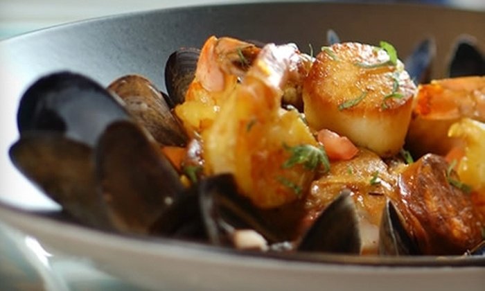 Global Restaurant - Whiteoak: $20 for $40 Worth of Cosmopolitan Cuisine at Global Restaurant