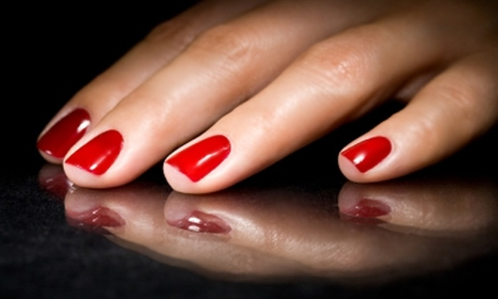 Strictly French Nail Salon - Dublin: $17 for Shellac Manicure at Strictly French Nail Salon in Dublin ($35 Value)