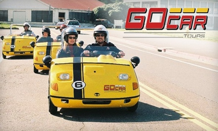 GoCar Tour - Multiple Locations: $50 for a Narrated, GPS-Guided GoCar Tour ($103 Value)