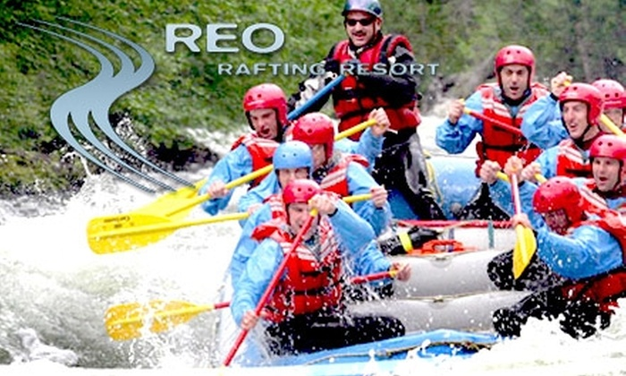 REO Rafting Resort - Boston Bar: $88 for a Whitewater-Rafting Day Trip from REO Rafting Resort (Up to $148 Value)