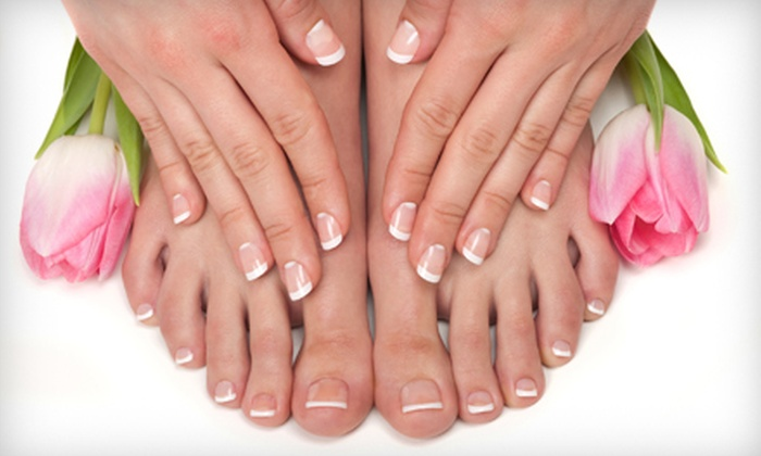 Traces of Beauty - North Raleigh: Signature Mani-Pedi or Peppermint Blast Mani-Pedi with Sugar Scrub at Traces of Beauty (Up to Half Off)