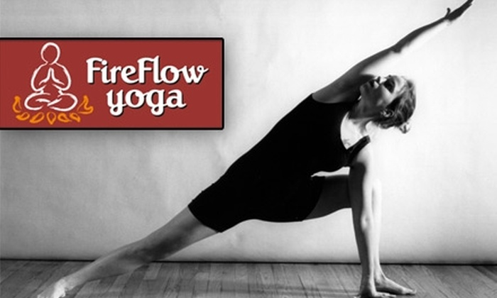 Fireflow Yoga - Davisville: $14 for Two Weeks of Unlimited Drop-In Classes at Fireflow Yoga ($30 Value)