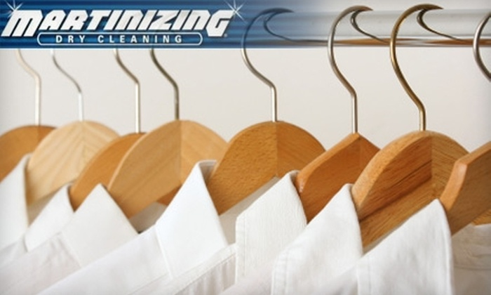 One Hour Martinizing - Lakeview: $15 for $40 Worth of Dry Cleaning Services at One Hour Martinizing