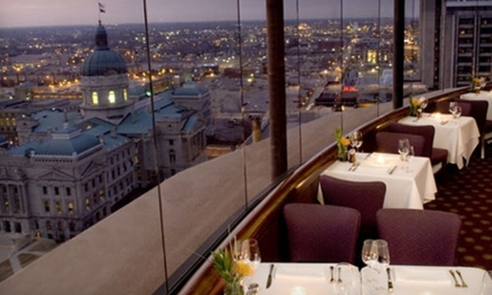 The Eagle's Nest - Downtown Indianapolis: $35 for $70 Worth of Upscale American Cuisine and Drinks at The Eagle's Nest